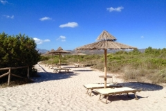 I Giardini di Cala Brandinchi sabbia